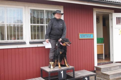 Lägre klass spår Tranås 2012-04-15