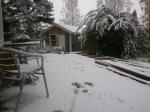 Det kom en hel del snö på 20 minuter!