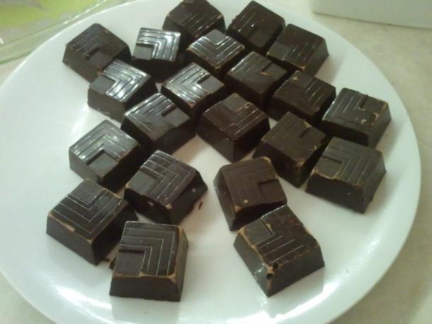 Egentillverkade chokladpraliner