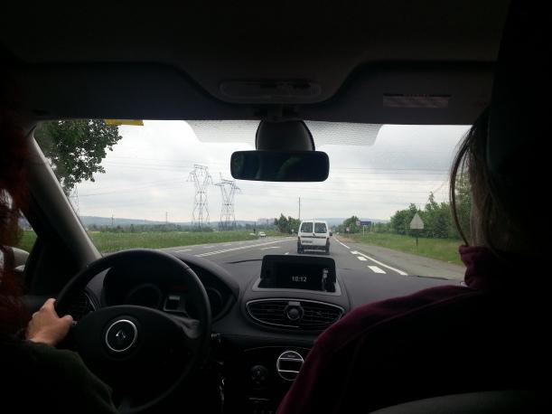 På väg mot Gien