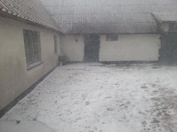 Snön drar in!