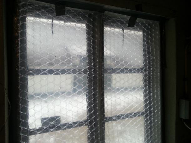 Tvättstugans fönster fixat