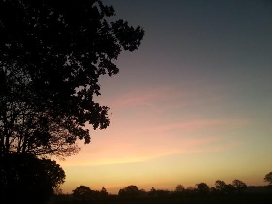 Så vackert med solnedgångar!