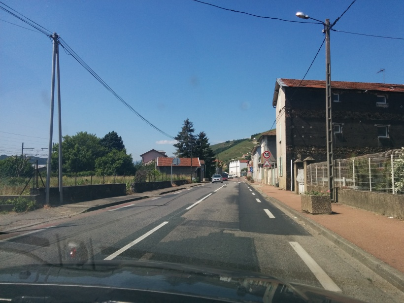 På väg till Saint Pierre de Boeuf