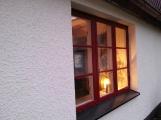 Fönster med ny färg, blev riktigt riktigt bra!
